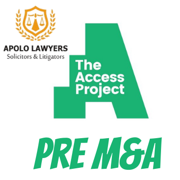 Pre – M&A legal consultancy about access of project