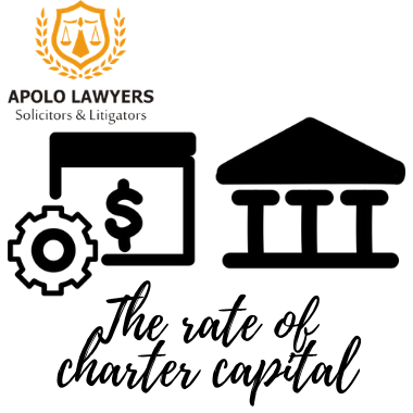 The rate of charter capital owned by foreign investors  in Vietnam