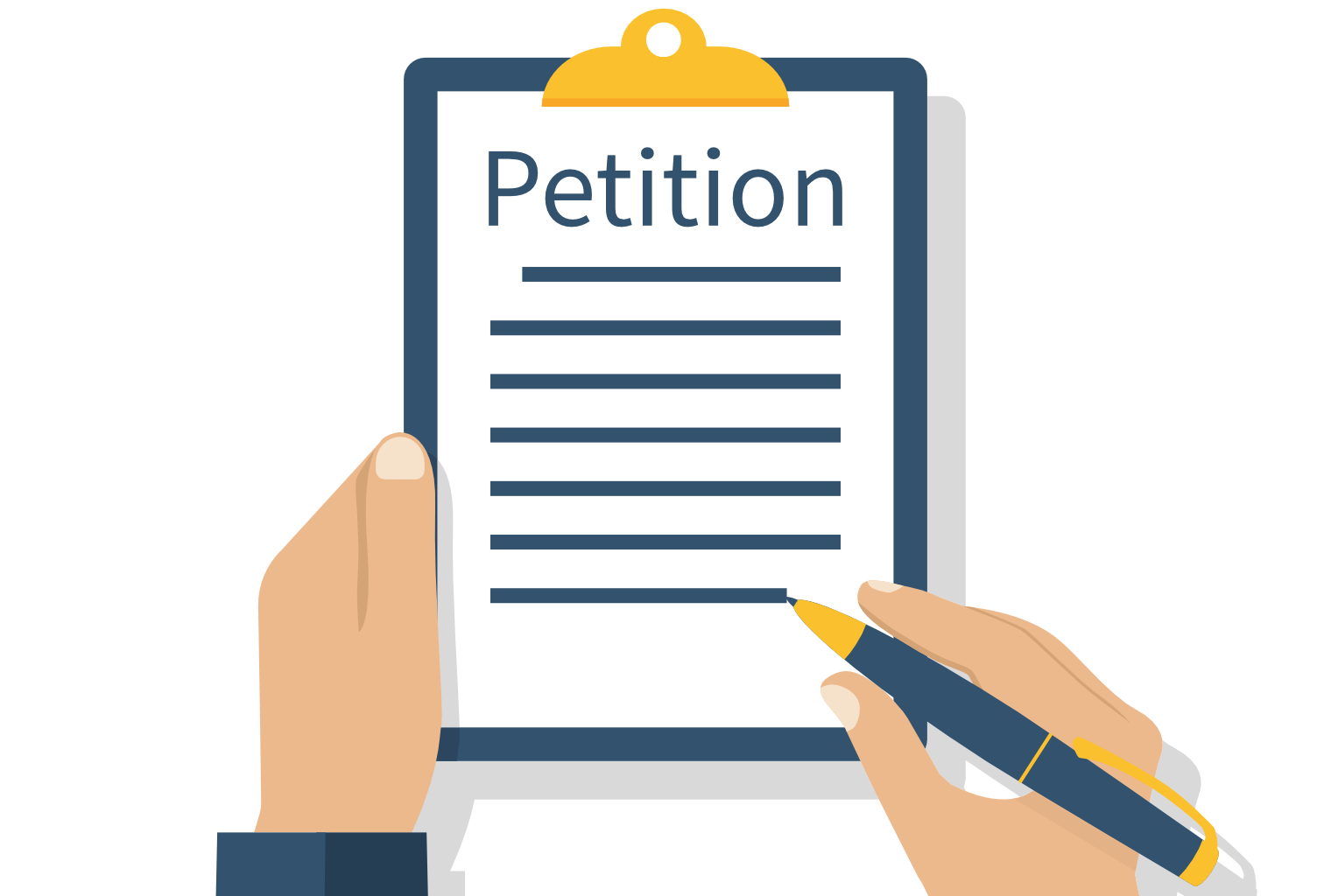 Drafting the petition lawsuit in Vietnam