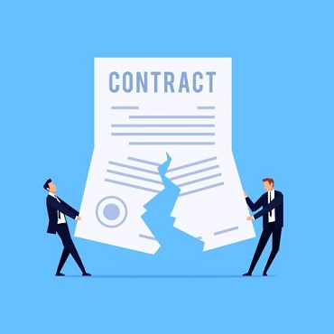 Legal advice for the breach of contract